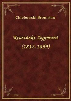 Ebook Krasiński Zygmunt (1812-1859) pdf
