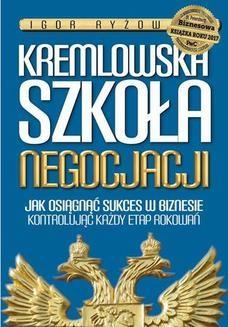 Chomikuj, ebook online Kremlowska szkoła negocjacji. Igor Ryżow