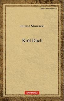 Chomikuj, ebook online Król Duch. Juliusz Słowacki