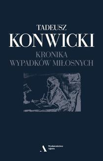 Ebook Kronika wypadków miłosnych pdf