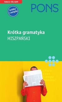Chomikuj, ebook online Krótka gramatyka języka hiszpańskiego. Yolanda Mateos Ortega