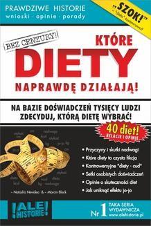 Chomikuj, ebook online Które diety naprawdę działają. Prawdziwe historie, wnioski, opinie, porady…. Marcin Black