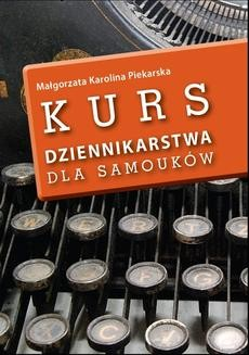 Ebook Kurs dziennikarstwa dla samouków pdf