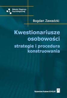 Ebook Kwestionariusze osobowości pdf