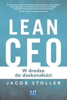Chomikuj, ebook online Lean Ceo. Jacob Stoller