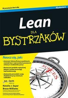 Chomikuj, ebook online Lean dla bystrzaków. Wydanie II. Natalie J. Sayer