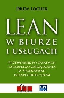 Chomikuj, ebook online Lean w biurze i usługach. Drew Locher