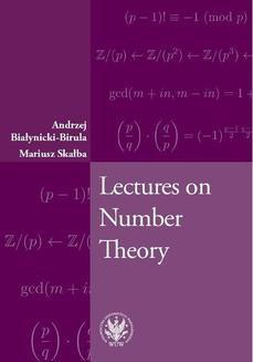 Chomikuj, pobierz ebook online Lectures on Number Theory. Andrzej Białynicki-Birula