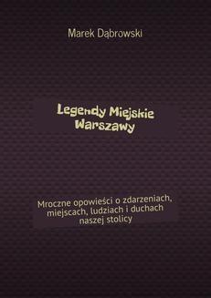 Ebook Legendy Miejskie Warszawy pdf