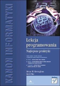 Chomikuj, ebook online Lekcja programowania. Najlepsze praktyki. Brian W. Kernighan