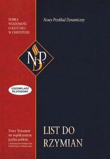 Chomikuj, ebook online List do Rzymian (NPD). Zespół NPD