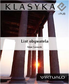 Chomikuj, ebook online List obywatela. Adam Gurowski