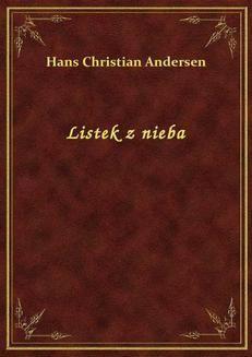 Chomikuj, ebook online Listek z nieba. Hans Christian Andersen