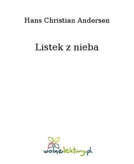 Chomikuj, pobierz ebook online Listek z nieba. Hans Christian Andersen