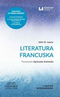 Chomikuj, ebook online Literatura francuska. John D. Lyons