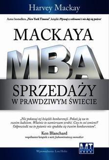 Ebook Mackaya MBA sprzedaży w prawdziwym świecie pdf