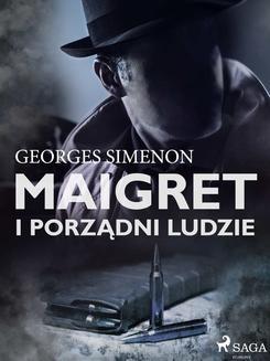 Chomikuj, ebook online Maigret i porządni ludzie. Georges Simenon