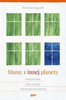 Chomikuj, ebook online Mamy z innej planety. Krystyna Strączek