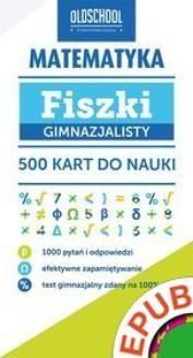 Ebook Matematyka. Fiszki gimnazjalisty. 500 kart do nauki pdf