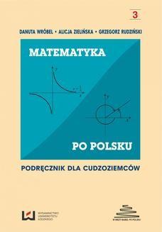 Ebook Matematyka po polsku. Podręcznik dla cudzoziemców pdf