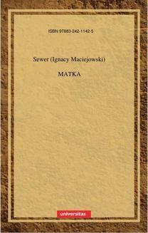 Chomikuj, ebook online Matka. Ignacy Maciejowski