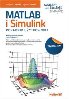 Chomikuj, ebook online MATLAB i Simulink. Poradnik użytkownika. Wydanie IV. Bogumiła Mrozek