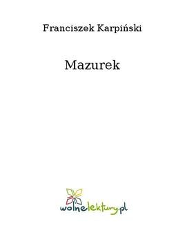 Ebook Mazurek pdf