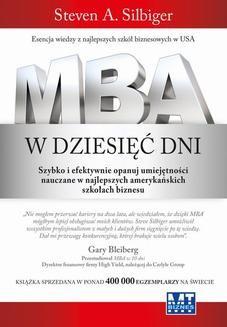 Chomikuj, pobierz ebook online MBA w dziesięć dni. Steven Silbiger