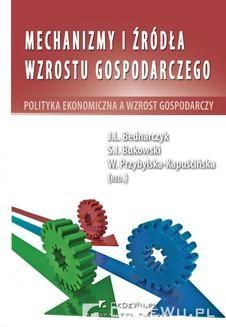 Ebook Mechanizmy i źródła wzrostu gospodarczego. Polityka ekonomiczna a wzrost gospodarczy pdf