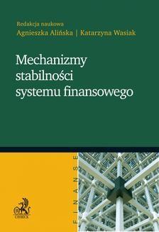 Ebook Mechanizmy stabilności systemu finansowego pdf