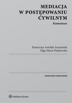 Ebook Mediacja w postępowaniu cywilnym. Komentarz pdf