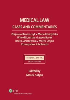 Ebook Medical law. Cases and commentaries pdf