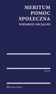 Chomikuj, ebook online MERITUM Pomoc społeczna. Wsparcie socjalne. Monika Lewandowicz-Machnikowska