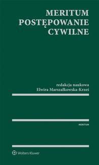 Ebook MERITUM Postępowanie cywilne pdf