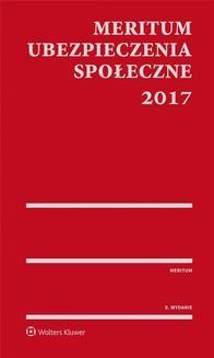 Ebook MERITUM Ubezpieczenia społeczne 2017 pdf