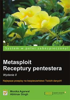 Ebook Metasploit. Receptury pentestera. Wydanie II pdf