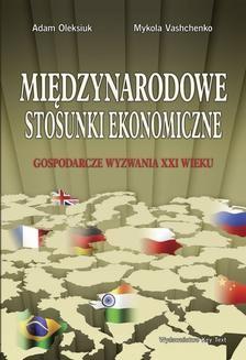 Chomikuj, ebook online Międzynarodowe stosunki ekonomiczne. Adam Oleksiuk