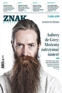 Chomikuj, ebook online Miesięcznik Znak – lipiec-sierpień 2013. autor zbiorowy