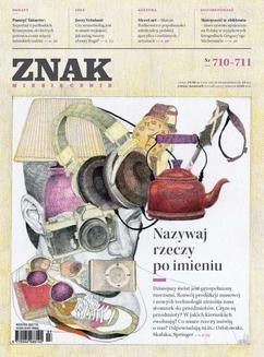 Chomikuj, ebook online Miesięcznik Znak -lipiec-sierpień 2014. autor zbiorowy