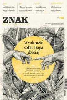 Chomikuj, ebook online Miesięcznik Znak – maj 2014. autor zbiorowy