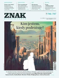 Chomikuj, ebook online Miesięcznik Znak nr 746–747: Kim jestem, kiedy podróżuję?. autor zbiorowy