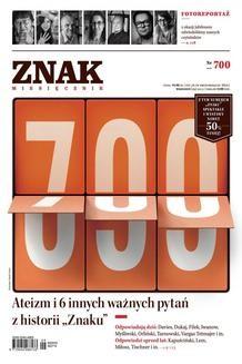 Chomikuj, ebook online Miesięcznik Znak – wrzesień 2013. autor zbiorowy