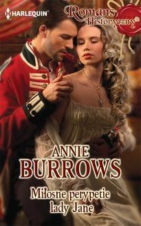 Chomikuj, ebook online Miłosne perypetie lady Jane. Annie Burrows