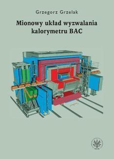Ebook Mionowy układ wyzwalania kalorymetru BAC pdf