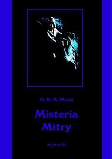Chomikuj, ebook online Misteria Mitry. George Robert Stowe Mead