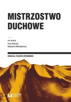 Ebook Mistrzostwo duchowe pdf