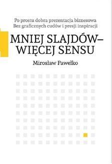 Ebook Mniej slajdów – więcej sensu pdf