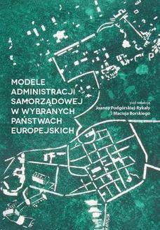 Ebook Modele administracji samorządowej w wybranych państwach europejskich pdf
