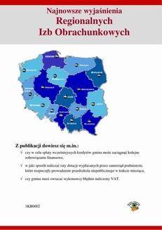 Chomikuj, ebook online Najnowsze wyjaśnienia Regionalnych Izb Obrachunkowych. Karol Zawadzki
