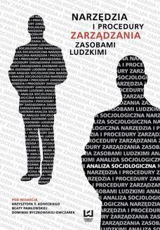 Ebook Narzędzia i procedury zarządzania zasobami ludzkimi. Analiza socjologiczna pdf